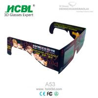 Wholesale Large Square Paper Frame Chroma Depth 3D Glasses With Full Color Printing from china suppliers