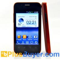 Wholesale Dex - 3.5 Inch Dual SIM Android Smartphone with 1GHz CPU - Stylish Red Design from china suppliers