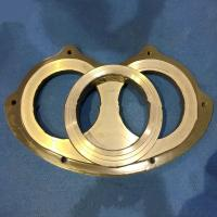 Wholesale Professional Custom Pump Wear Ring , Concrete Pump Carbide Wear Plate from china suppliers
