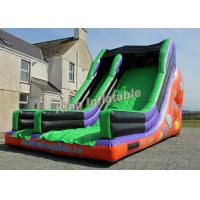 Wholesale Commercial PVC Clebration large Inflatable water slides 26*16*18 feet from china suppliers