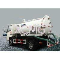 Wholesale Useful 5T Special Purpose Vehicles , 6.5L Custom Vacuum Septic Pump Truck For Irrigation from china suppliers