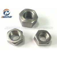 Wholesale Fastener Products Stainless Steel Nuts M6 Hexagon Head With Metric Screw Threads from china suppliers