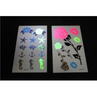 Wholesale Non Toxic Fake Neon Temporary Tattoos Stickers Waterproof Real Looking from china suppliers