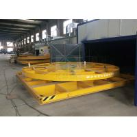 Wholesale Sand blasting room using industrial electric turntable 25 t load capacity from china suppliers