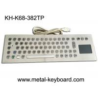 Wholesale Computer Industrial Keyboard with Touchpad , 70 Keys Waterproof Keyboard With Touchpad from china suppliers