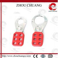 Wholesale Useful New Safety  Red 40mm PA Body Steel Hasp WIth Hook,for  lock from china suppliers