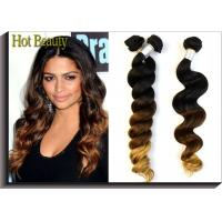 "Wholesale GZ Hot Beauty Grade 6A+ Ombre Virgin Peruvian Hair Bundles 14""--24"" Inch from china suppliers"