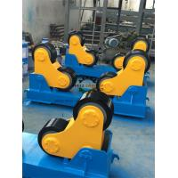Quality Self Aligning Rotator Pipe Welding PU coated Rollers 400mm Dia. 4kW Motor Interver control for sale