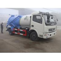Wholesale hot sale cheapest dongfeng duolika 4*2 LHD/RHD 6m3 sewage vacuum truck, 2017s new 6,000Liters sludge tank truck from china suppliers