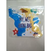 Wholesale PVC Travel Document Slider Zipper Ziplock Pouch Packing Bags/Clear PVC Ruler Bag / PVC Pen CASE / PVC Stationery Pouch from china suppliers