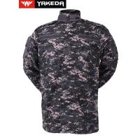 Wholesale Anti UV Army Camouflage Clothes With Zigzag Stitched Mandarin Collar from china suppliers