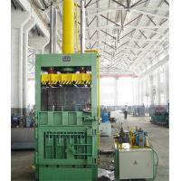 Wholesale Blue Vertical Marine Vertical Baler Machine Safe Manual Operation from china suppliers