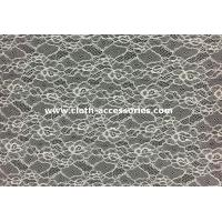 "Wholesale 60"" Voile Corded Nylon Lace Fabric High Tenacity For Women Dress SGS / INTERTEK from china suppliers"