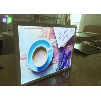 Wholesale 15 MM Ultra Thin LED Free Standing Light Box Aluminum Snap Frame Extrusion from china suppliers