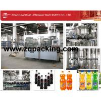 Wholesale A to Z automatic pet bottle carbonated beverage filling plant in  Uzbekistan from china suppliers