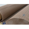Buy cheap PTFE Coated Fiberglass Fabric 580GSM 4*4MM Mesh Screen Printing Conveyor Belt from wholesalers