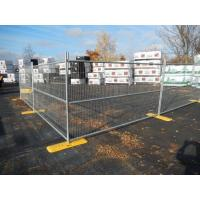 Wholesale Hot-dip galvanized cheap price temporary chain link fence 6 foot x 12 foot chain link temp fence from china suppliers