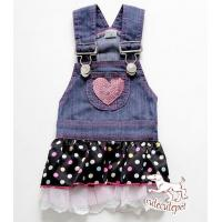 Buy cheap Popular chiffon dog skirt, cool jean material together with sexy skirt design from wholesalers