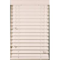 Wholesale 50mm pvc foamwood venetian blinds with steel headrail and pvc foamwood bottomrail from china suppliers