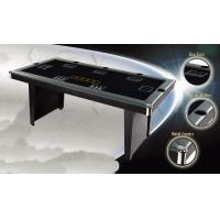 Wholesale Indoor 72 Inches Poker Game Table MDF Frame Leather Edging With Folding Legs from china suppliers