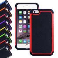 Wholesale Apple Iphone 6 plus 5.5 inch silicone cell phone covers with Hard plastic case from china suppliers