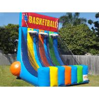 Wholesale 0.55 PVC Tarpaulin Inflatable Interactive Games Giant Inflatable Basketball Hoop from china suppliers