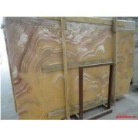 Wholesale Orange Onyx Marble Onyx Stone Slabs , onyx stone countertops / work top from china suppliers