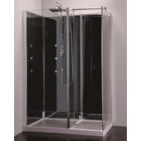 Wholesale New whole sale walk in glass shower room bathroom shower cubicle shower cabin from china suppliers