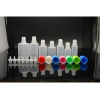 Wholesale 10ml - 30ml Child Proof Cap Plastic Dropper Bottles With Normal Tip For Medicine Packing from china suppliers