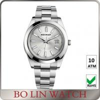 Quality Brushed Sanding Full Stainless Steel Watch Underwater Watches For Womens for sale