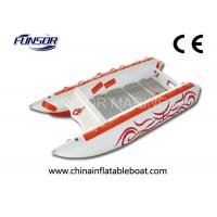 Wholesale Comfortable Three Person 3.8m High Speed Inflatable Boats For Fishing from china suppliers
