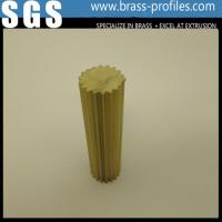 Wholesale C38500 Alloy Copper Bar With Round Shape / Extruding Brass Profiles from china suppliers