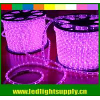 Wholesale LED rope flexible light 12/24v multicolor 1/2'' 2 wire duralight from china suppliers