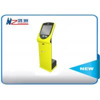 19 inch outdoor touch screen kiosk with IR touch frame , outdoor information kiosk