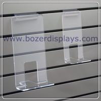 Wholesale Clear Acrylic Face Out Book Shelf for Slatwall from china suppliers