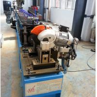 Wholesale 1.0'' Single Chain Steel Stud Roll Forming Machine With Fly Shear Cutting 0.2-0.5mm from china suppliers