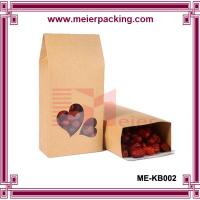 Wholesale Aluminum foil plastic square flat bottom red date bag with window ME-KB002 from china suppliers