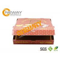 Wholesale Shipping Printed Pizza Boxes / Custom Printed Food Boxes With Handles from china suppliers