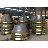 Wholesale High Cr Cast iron Crusher Wear Parts Concave for Mining Industry Cone Cushers from china suppliers