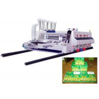 Buy cheap 4 Color Flexographic Printing Machine Carton Box Manufacturing Machine from wholesalers