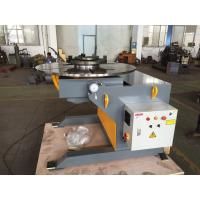Wholesale VFD Control Rotary Welding Table 3 - Jaws Chuck , 3 Ton Capacity from china suppliers