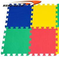 Wholesale Non-toxic Kid's Plain Colour interlocking tiles 1/2 thickness water proof , easy to fix from china suppliers