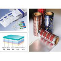 Wholesale PET AL PE 3- Layers Blister Packaging Materials Laminated Composite Aluminum Foil from china suppliers