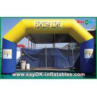 Wholesale PVC Durable Material Inflatable Arch / Inflatable Finish Line from china suppliers