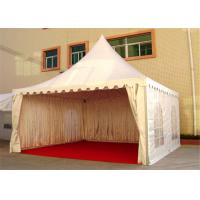 Wholesale 4M * 4M Pagoda Shape Event Tent With 80-100km/h With Wooden Floor from china suppliers
