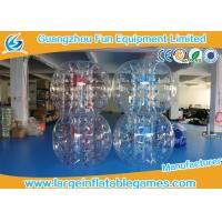Wholesale Skill Printing Inflatable bumper balls for adults / Entertainment inflatable body bumpers from china suppliers