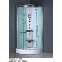 Wholesale Medium Jets quadrant shower cabin , all in one shower enclosure Electronic system from china suppliers