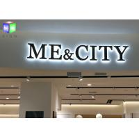 Wholesale Shopping Mall LED Backlit Sign Box LED Channel Letter Signs Display 4 CM Thick from china suppliers