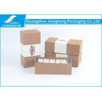 Wholesale Disposable Kraft Paper Tea Gift Boxes , Luxury Unique Tea Packaging Boxes from china suppliers