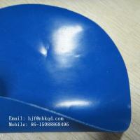 Buy cheap 0.6mm Blue Rubber Tarpaulin Hypalon Fabric from wholesalers